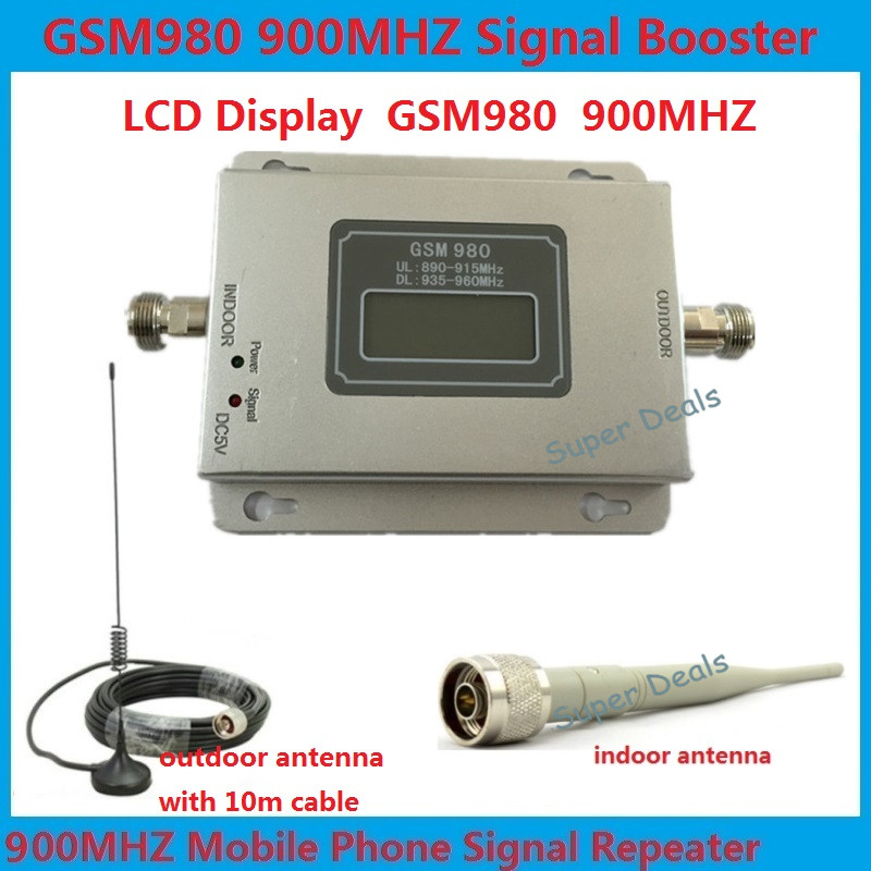 Best price LCD booster! GSM 980 900mh cell phone signal booster repeater amplifier ,mobile signal repeater gsm booster + antennaBest price LCD booster! GSM 980 900mh cell phone signal booster repeater amplifier ,mobile signal repeater gsm booster + antenna