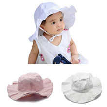 New Toddlers Infants Baby Girls Summer Hats Straw Sun Beach Caps for Cap 0-3Y