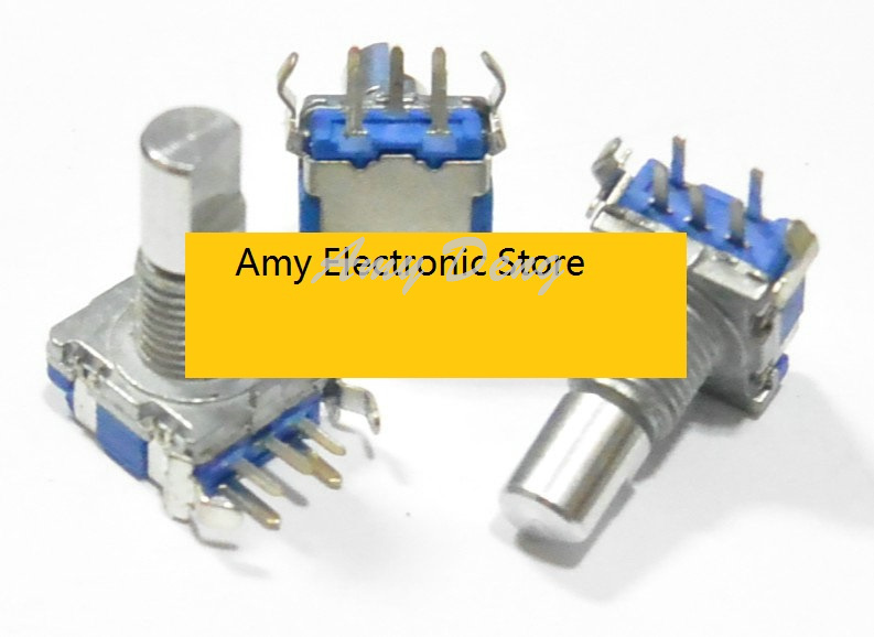 Passive Components Have An Inquiring Mind 20pcs/lot Ec11 Type Vertical Code Switch 30 Positioning Number 15 Pulse Shaft Length 15mm