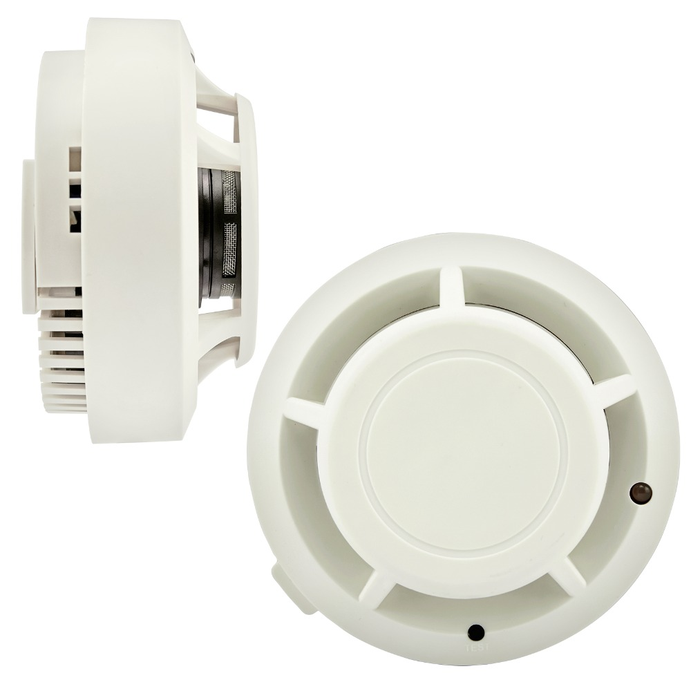 high sensitive wireless smoke detector home alarm systems security independent smoke detector. Black Bedroom Furniture Sets. Home Design Ideas