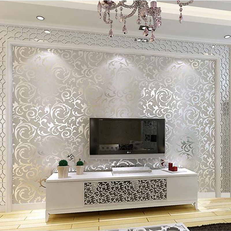 Aliexpress Buy Gold wallpapers 3D Wall Murals European Non – Wallpaper for a Bedroom