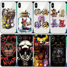 five nights at freddy's fnaf freddy cover Hard PC phone case For iphone 6 6S 7 8 Plus 5C 4S 5S 5 SE X XR XS Max 10(China)