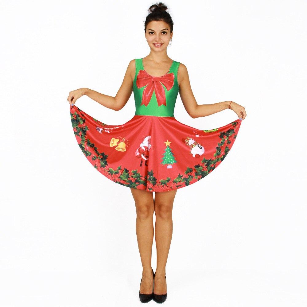 Popular Red Dress Santa-Buy Cheap Red Dress Santa lots from China ...