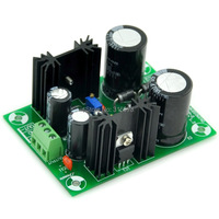 Power Supply Board Kit PCB Based On LM317 LM337 IC