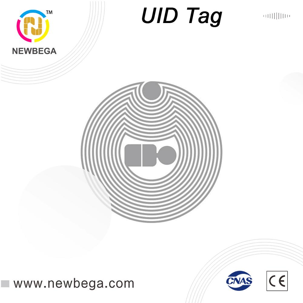10PC RFID Block 0 4 Byte UID Changeable Dry Inlay Tag HF 13.56MHz Label NFC Sticker 23mm In Diameter Free Shipping Fast Delivery