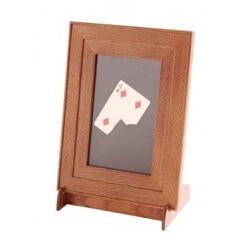Cadre Photo MC-tour de magie, insert de carte au cadre photo, magie de la carte magique de scène, accessoires, jouets classiques
