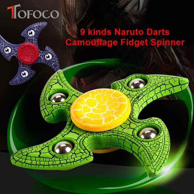 Naruto Camouflage Ninja Hand Spinner