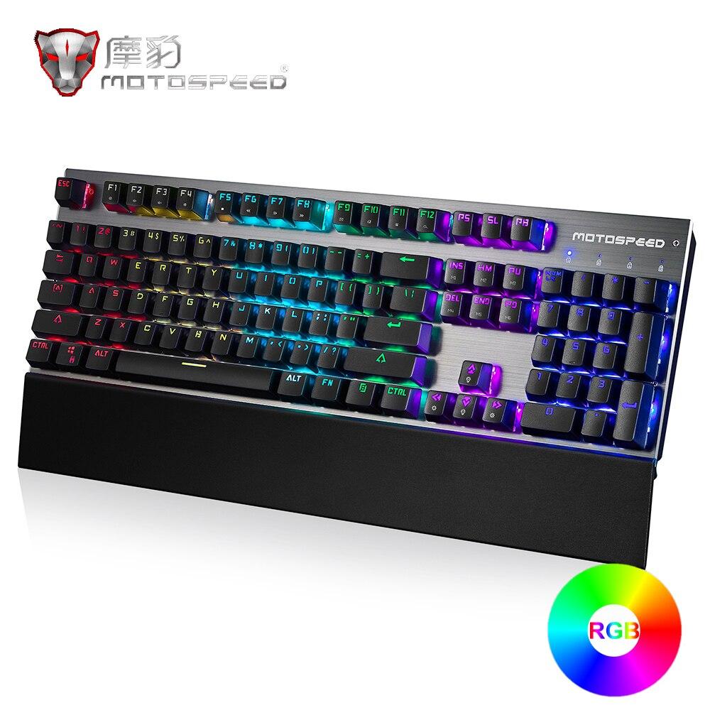 MOTOSPEED CK108 Gaming Mechanical Keyboards