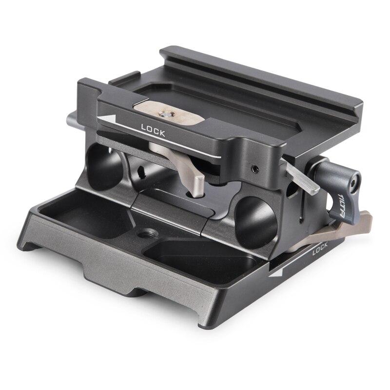 Tilta TA BSP 15 G 15mm LWS Basisplaat voor BMPCC 4 K (Tilta Grijs)-in Accessoires voor fotostudio's van Consumentenelektronica op  Groep 1