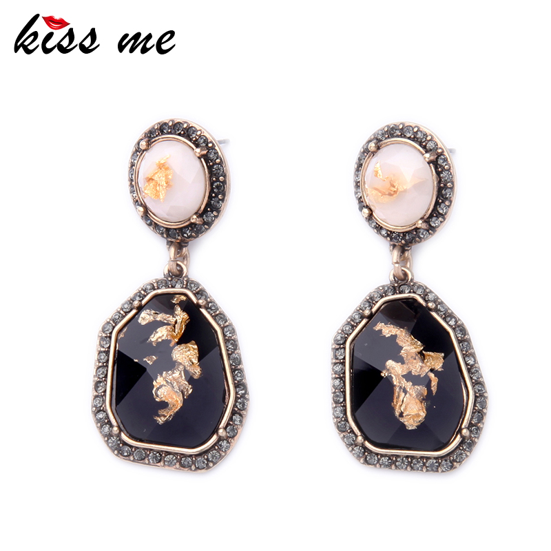 New Statement Irregular Women Earrings 2016 New Fashion Drop Earrings Classic Alloy Costume Statement Jewelry