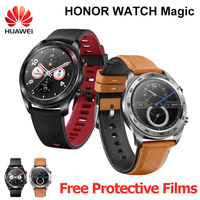 HUAWEI HONOR Смарт часы Maigic gps спортивные Smartwatch 1,2 дюймов AMOLED сенсорный экран heartrate мониторинга BT4.2 BLE 5ATM водостойкий