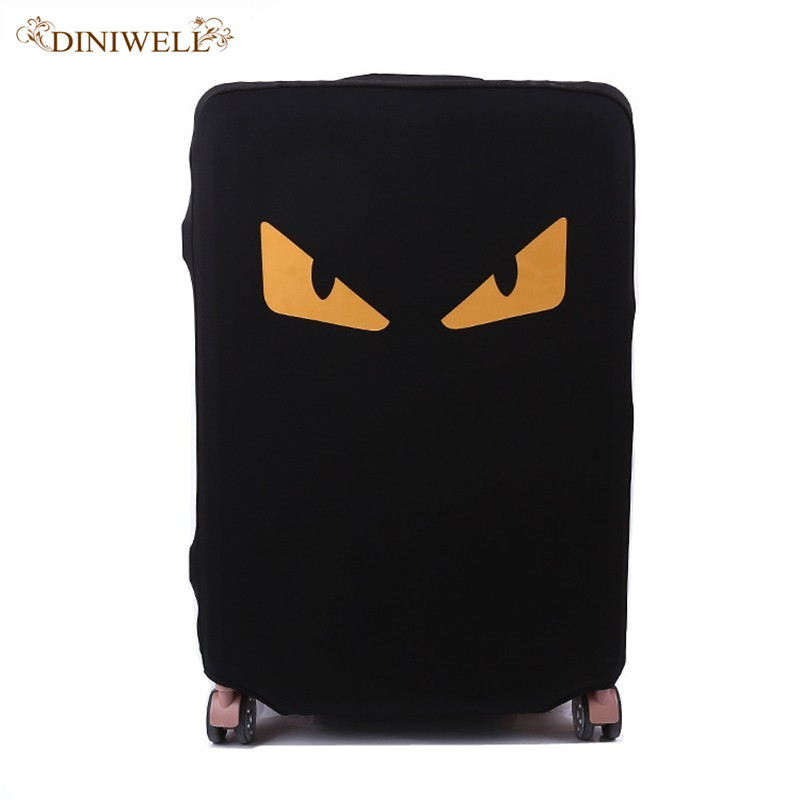 Travel Suitcase Protective Trunk Covers Apply To 18~30 Inch suitcase dust cover Shell elasticity Stretch Trolley Case Dust Cove цена