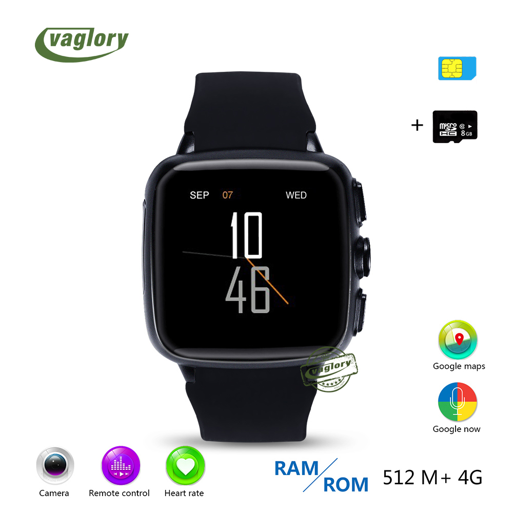 Vaglory Bluetooth Smart Watch Z01S MTK6572 Dual Core GPS+WiFi+1GB RAM+8G ROM Smartwatches Heart Rate Monitor Sport Pedometer цена и фото