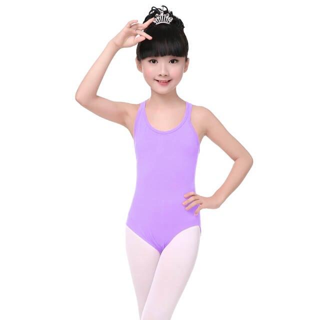 ab6ece540885 Online Shop Hot Sale Pink Ballet Dance Spaghetti Leotard Children ...