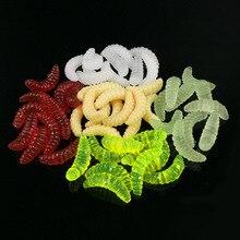 0.5g 2.4cm Soft Shrimp Fishing Lure Isca Artificial Plastic Soft Silicone Fishing Tackle Swim Bait Colorful leurre souple
