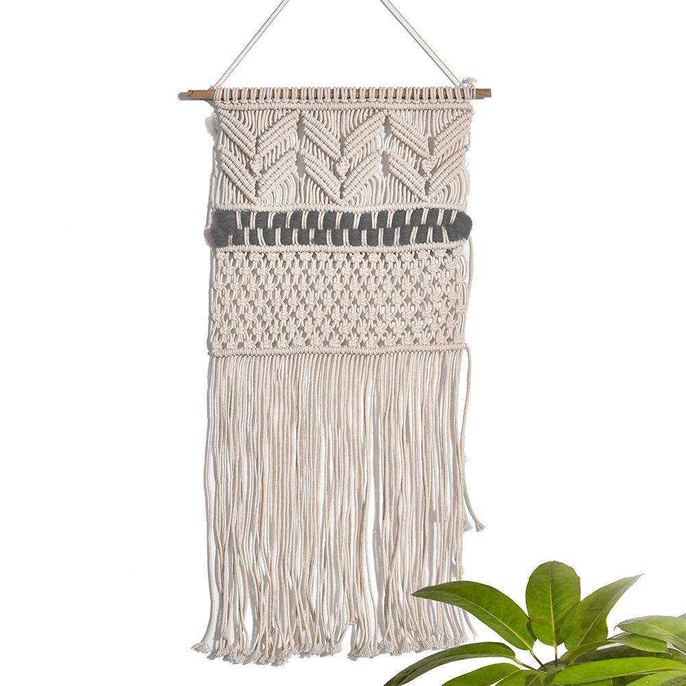 Hand woven Nordic Style Boho Tapestry Hanging Decor