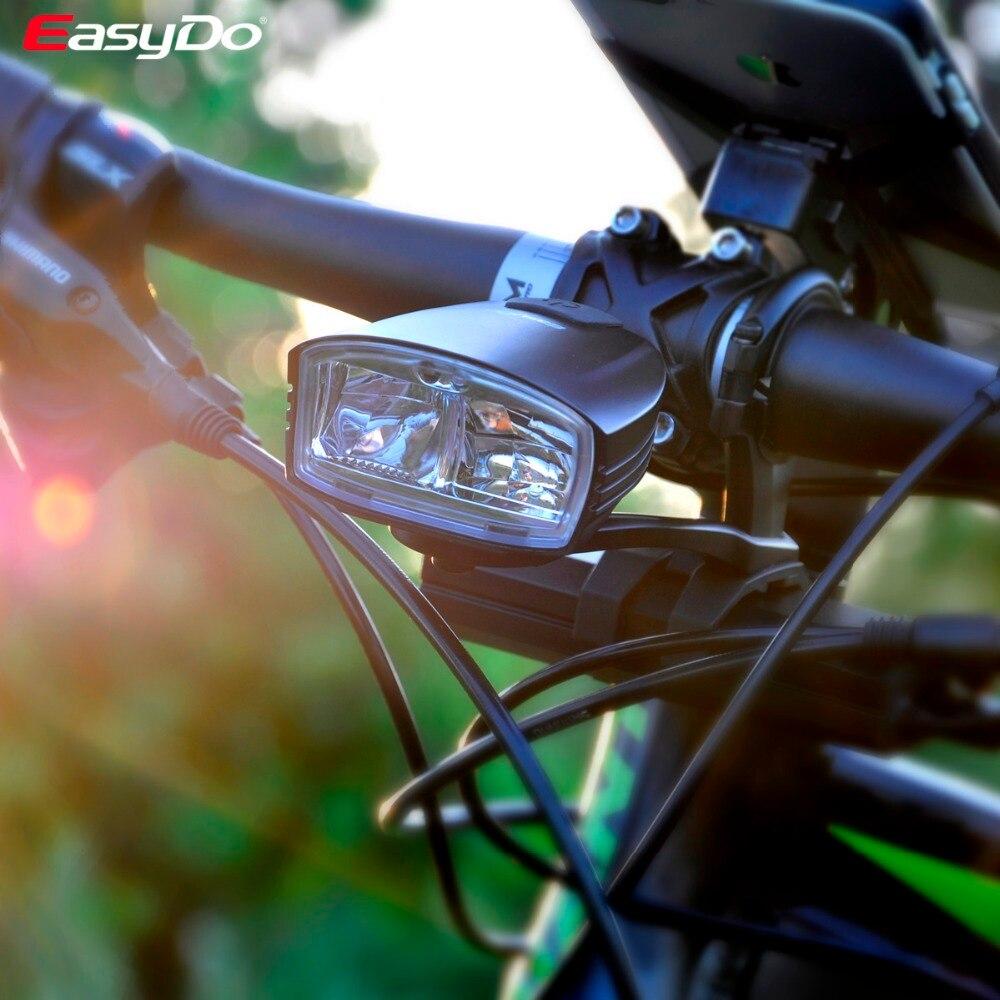 Велосипед EASYDO головной передний светодиодный свет Смарт индукция STVZO K mark USB 10 Вт лампа светодиодный 4400 мАч power Bank для наружного велоспорта EL 1112 - 6