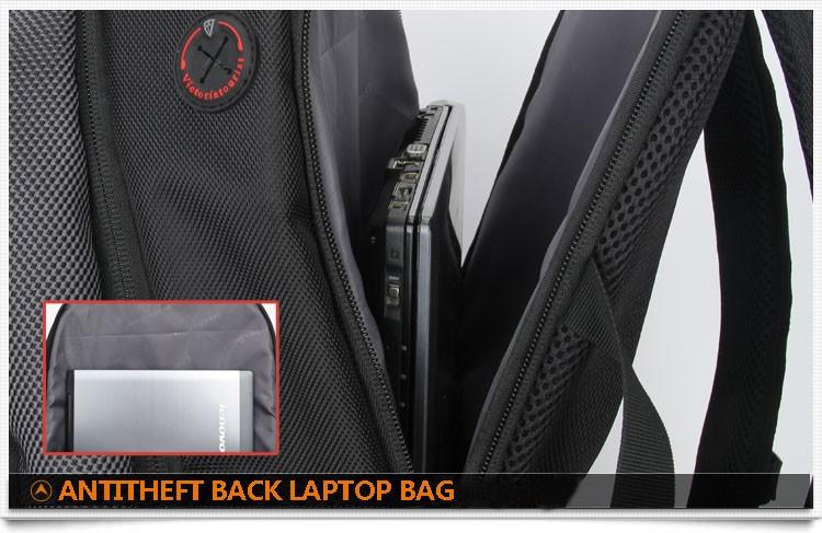 18 ANTITHEFT BACK LAPTOP BAG