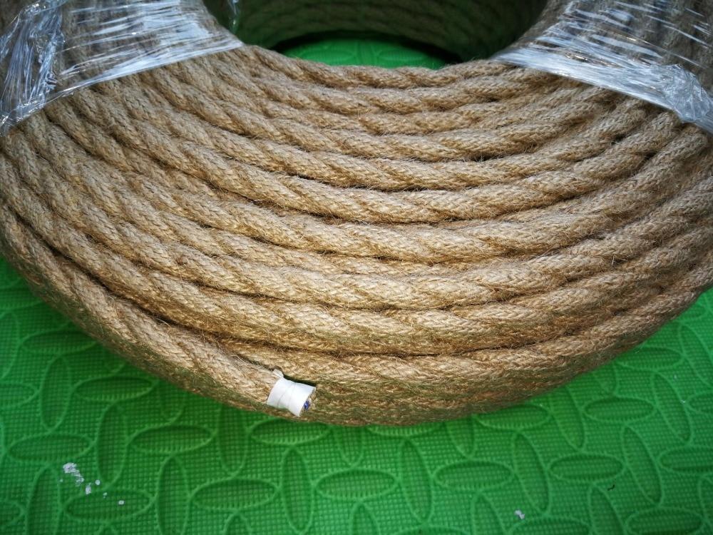 Tapicería Hilo De Lino 4 Cable-Vendido en mulitples de 20 M