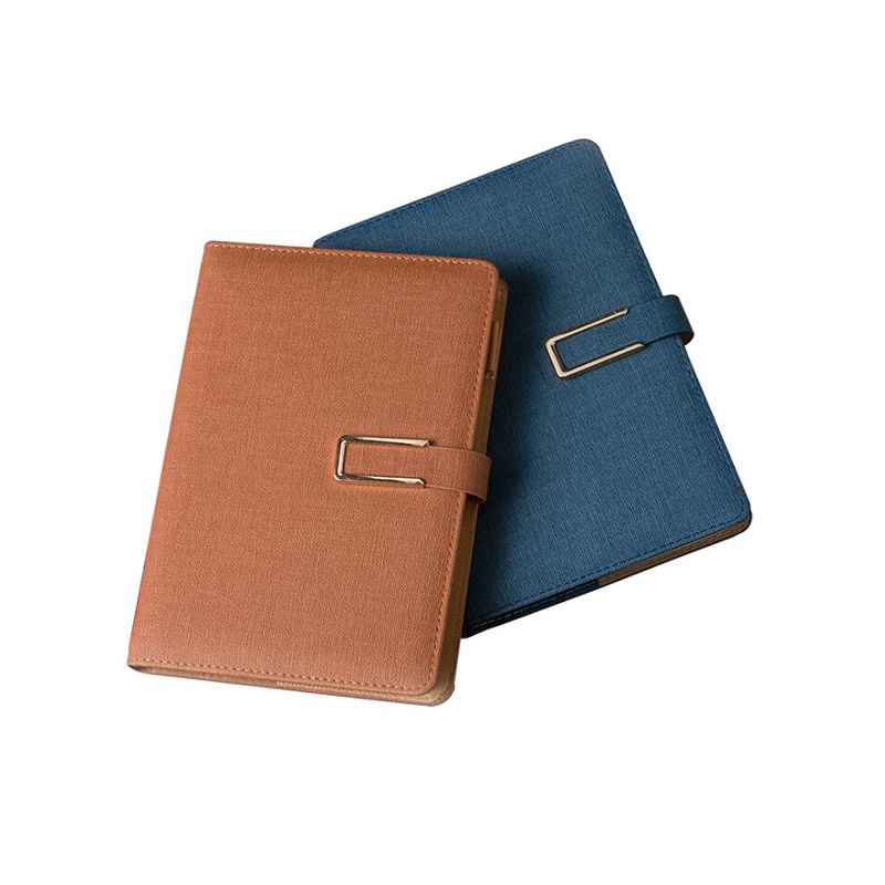 Logo Customized A5 Leather Notebook Travelers with Buckle Writing Pads Planner Name Engrave PU Memo Diary School Office Supplies a6 loose leaf binder notebook leather business lockable writing pads office school supplies logo name customized diary gift