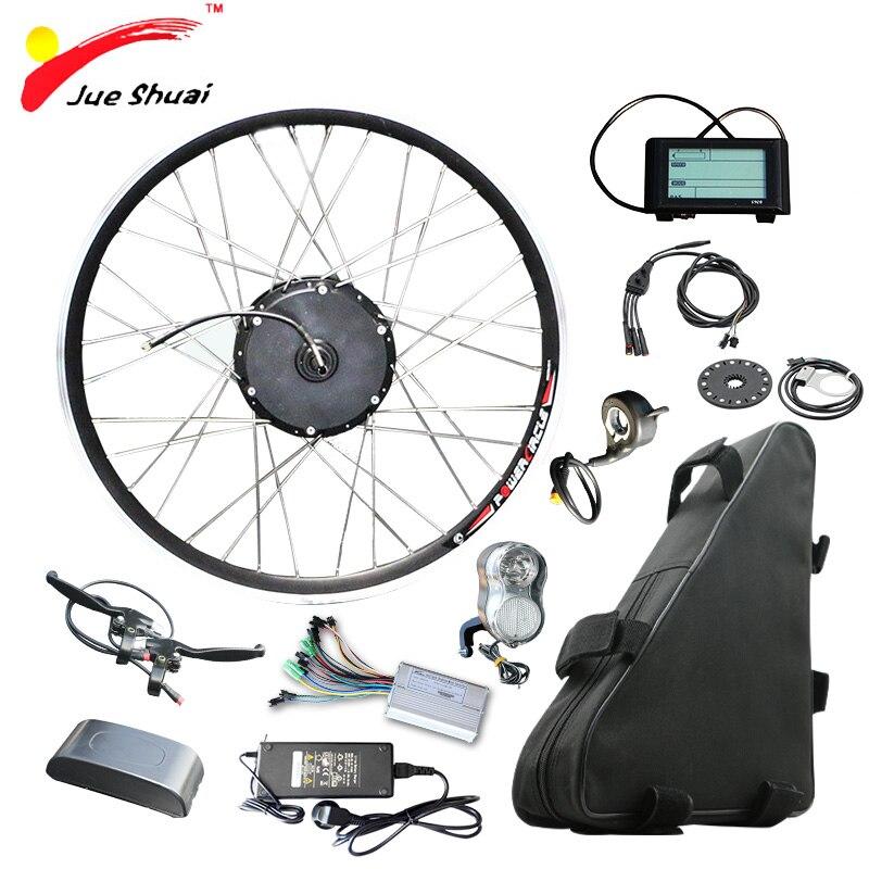 48 V 500 W Kit Bicicleta Elétrica Kit de Conversão Bicicleta Elétrica com Bateria de 20ah Ebike bicicleta electrica 500 W Do Motor roda Elétrica