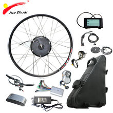 48V 500W 20ah Elektrische Bike Kit Electric Bike Conversion Kit mit Batterie Ebike bicicleta electrica 500W Motor rad Elektrische(China)