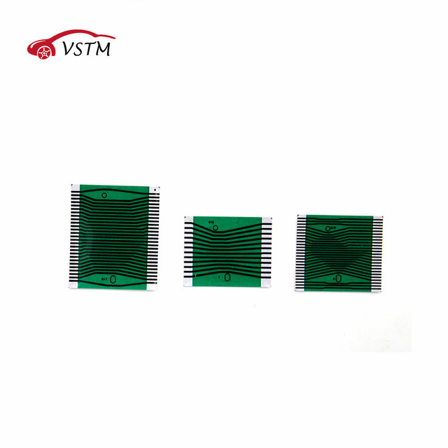 HOT!For Mercedes for Benz Instrument Cluster Pixel Display Repair Ribbon Cable MB W210 / W202 Full Set