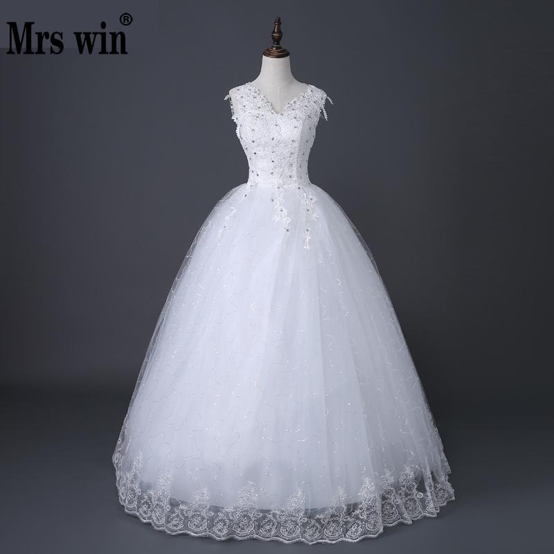 Desinger Simple Dentelle Robes De Mariée Sur Mesure Pas Cher Robes De Mariée Robe De Noiva Millésime Sous 100