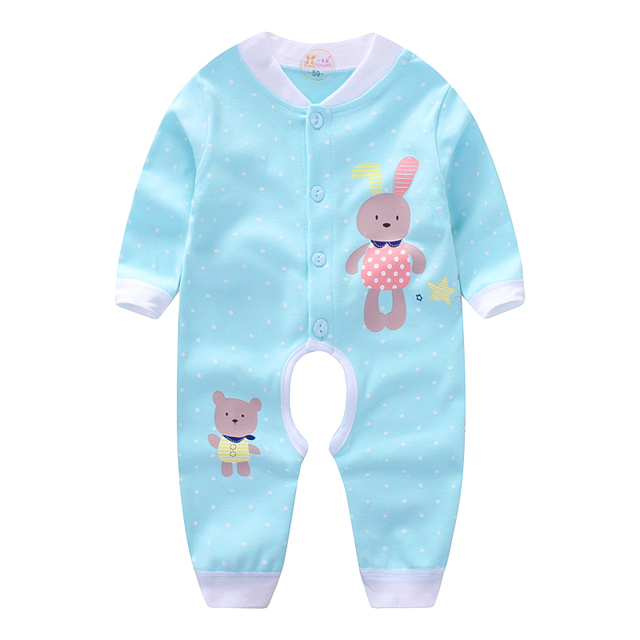 c58ea2eda523 Baby autumn and winter clothes female baby romper cotton long sleeved  newborn male 1 years old 0 spring and autumn 3 months