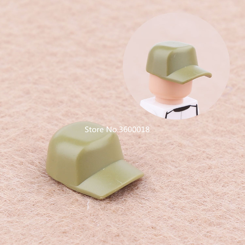 15pcs lot Decool hair helmet military weapon for 4cm mini dolls MOC building blocks brick toys compatible legos SY Pogo figures in Blocks from Toys Hobbies