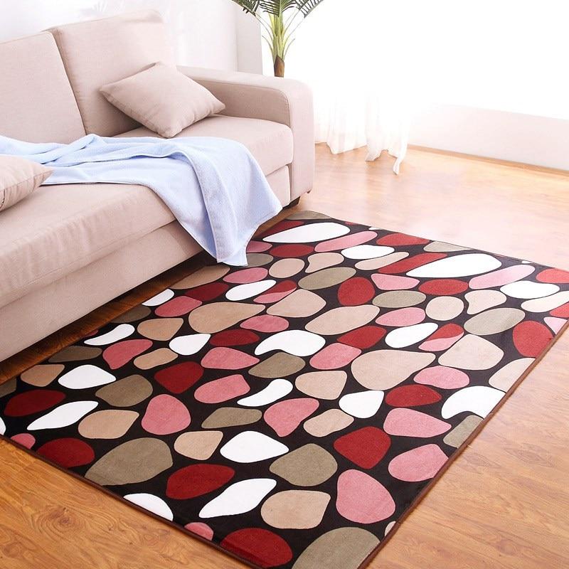 Tapijt voor woonkamer Home Warmer Coral Velvet Floor Rugs and Carpets - Thuis textiel