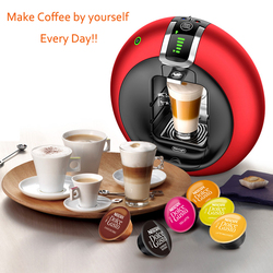 15bar High Intelligent Capsule Coffee Machine 1500W EDG606 Home Automatic Capsule Coffee Machine