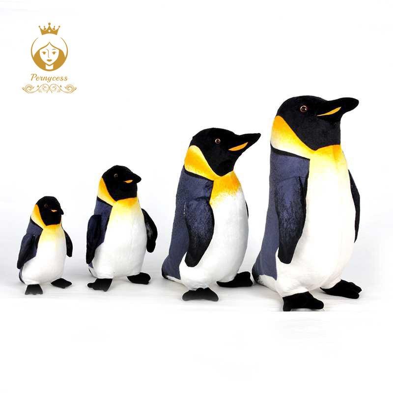 1PCS Simulation Marine Animal Plush Toy, Cute Penguin Plush Stuffed Doll, Kids Toys, Appease Dolls, Home Decor, Christmas Gifts