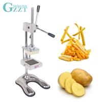 Potato Cutter Slicer Vertical Manual Cut Fries Machine Fruit Vegetable Cutter 8mm/10mm/12mm Stainless Steel Blades Kitchen Tool