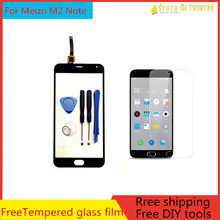 5.5 inch+Original for Meizu M2 Note Touch Screen Panel Outter Glass Digitizer Meizu M2 Note  LCD Touch Screen Replacement+tools