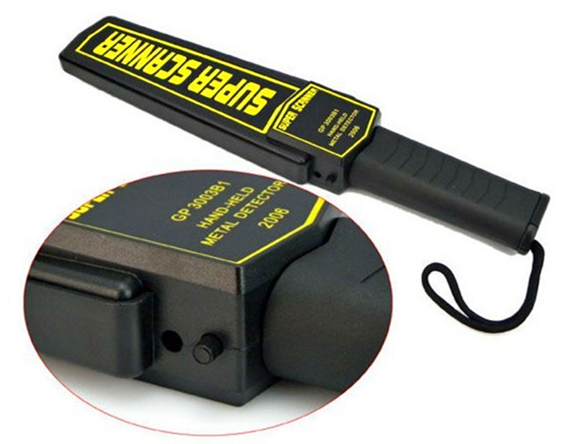 Portable Security Hand Held Metal Detects
