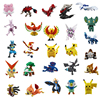 Coolplay 2 3cm 144 Pcs Sets Anime Toy PVC Figures Dolls Pikachu Anime Pocket Monster Dolls