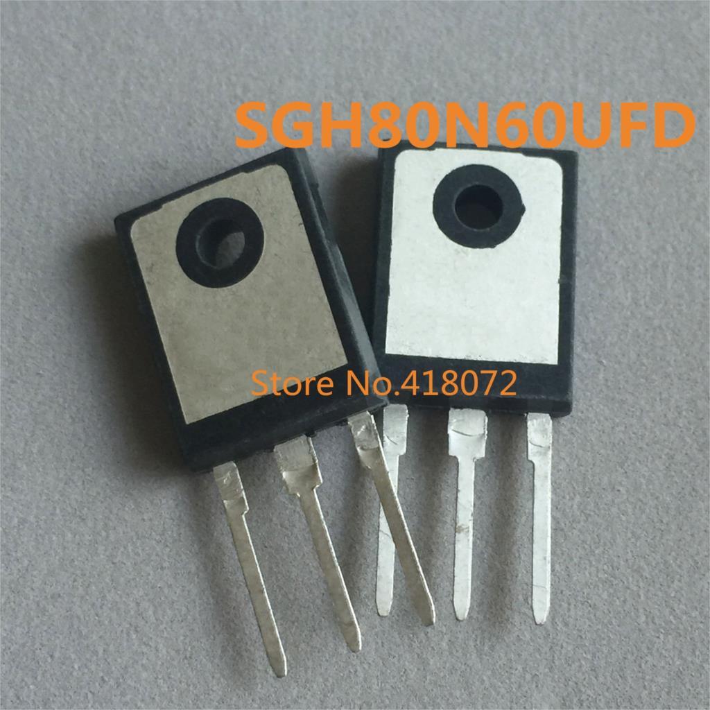 10 Teile/los Sgh80n60ufd G80n60ufd G80n60 Fsc To-3p Neue Moderater Preis