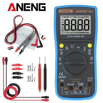 ANENG AN882B + TURE RMS Digital Multimeter Auto NCV AC DC Auto LCR Volt Meter Tester Temprature Kontinuität Tester-in Multimeter aus Werkzeug bei