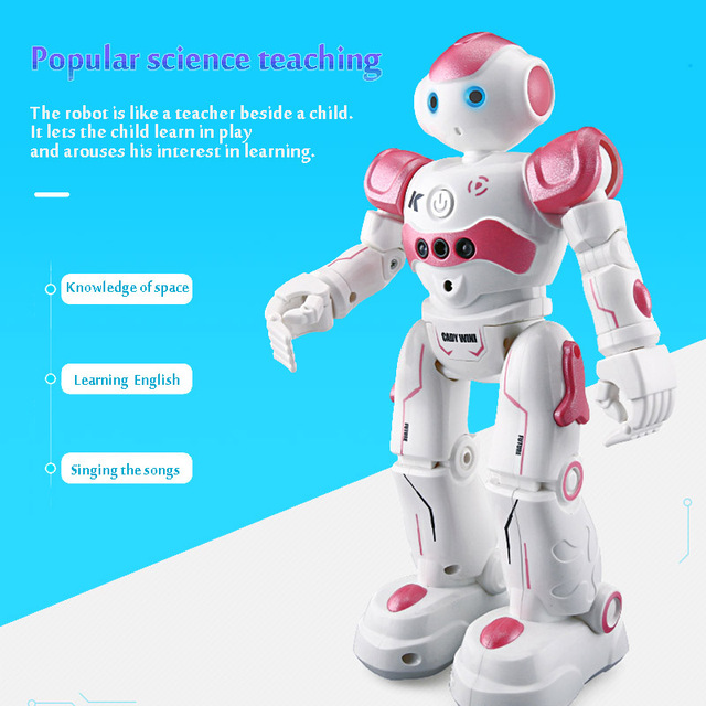 LEORY RC Robot Intelligent Programming Remote Control Robotica Toy Biped Humanoid Robot For Children Kids Birthday Gift Present 5