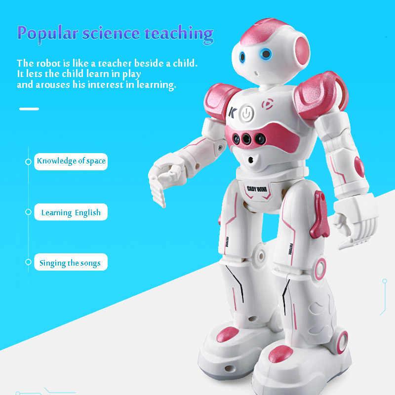 LEORY RC робот интеллектуальное Программирование дистанционное управление роботика игрушка Biped Гуманоид робот для детей подарок на день рождения