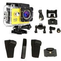 Новый подводный Камера Водонепроницаемый Полный Спорт DV видеокамера 1080 P HD спортивный DVR цифровая видеокамера