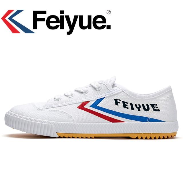 quality design 2bed9 0cba8 Feiyue KungFu scarpe da tennis originale Francese di arti Marziali Tai chi  Taekwondo Wushu Classico Arti