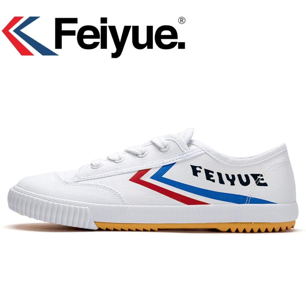 Feiyue KungFu chaussures Français d'origine sneakers arts Martiaux Tai chi Taekwondo Wushu Classique Arts Chaussures femmes hommes chaussures