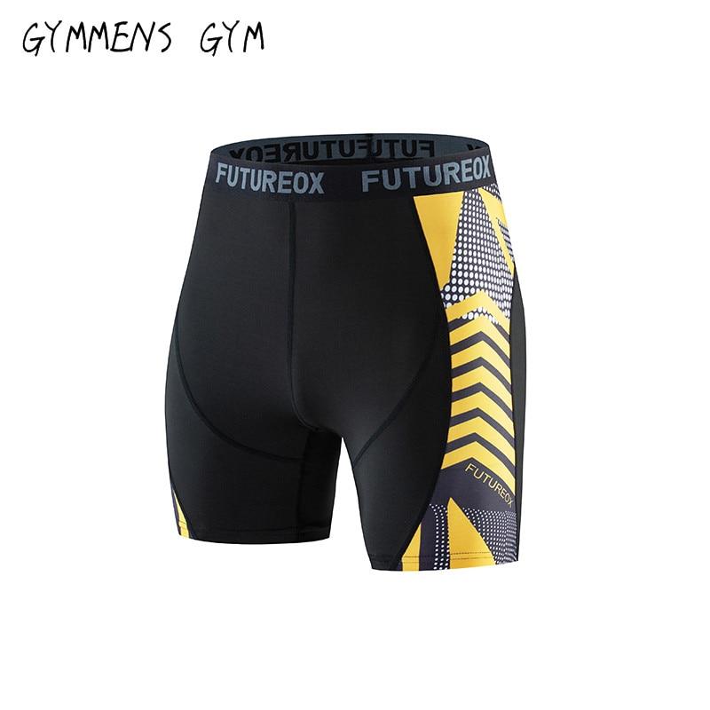 Tight Shorts Casual-Pants 3d-Printed Fitness Men's Elastic Quick-Drying Jogging Summer