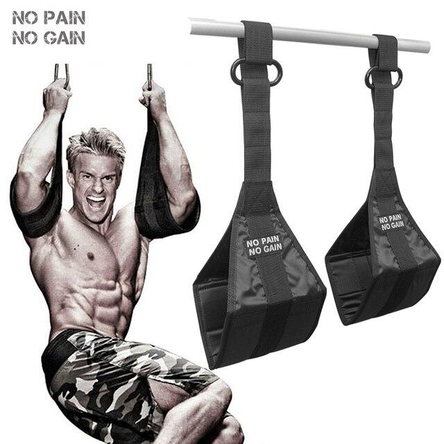 NO PAIN NO GAIN Resistance Bands Training Belt Horizontal