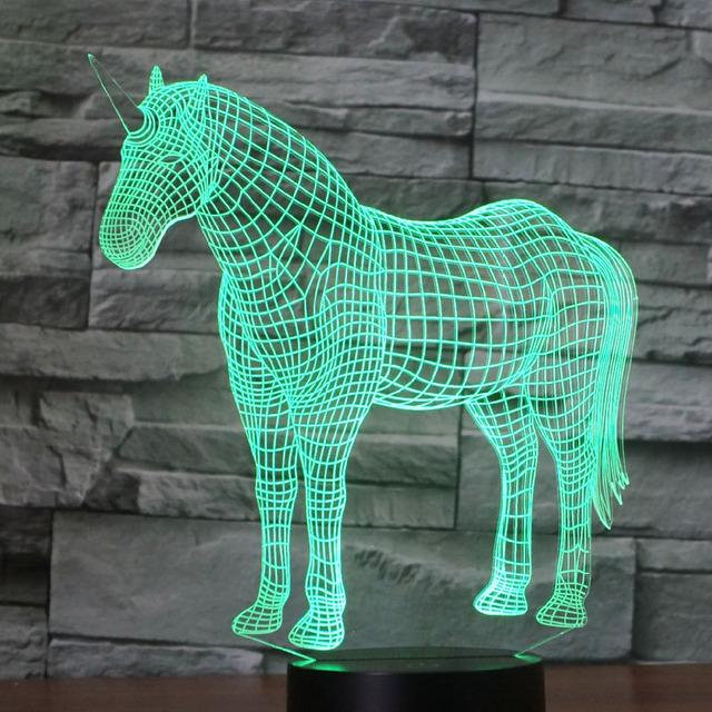 UNICORN 3D LED