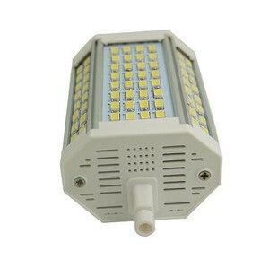 Image 4 - Yüksek güç 35w LED R7S ışık 135mm kısılabilir R7S lamba soğutma fanı J135 R7s ampul yerine 350w halojen lamba AC85 265V