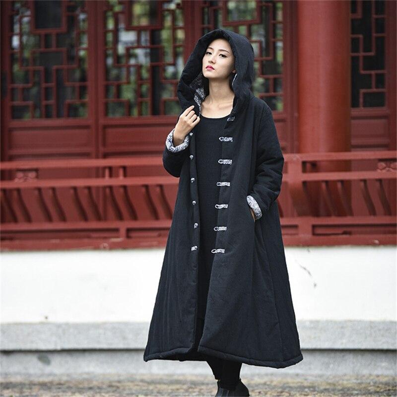 Lucky Horse 2017 New Winter Parka Jacket Women Winter Coat Long Cotton Padded Warm Jackets Coat