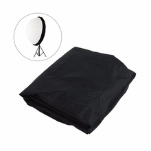 Klaar Voorraad 105 Cm 41 Inch Flash Speedlite Diffuser Softbox Reflector Parabolische Paraplu Zwarte Cover Doek